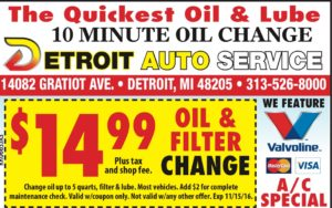 Oil Change test